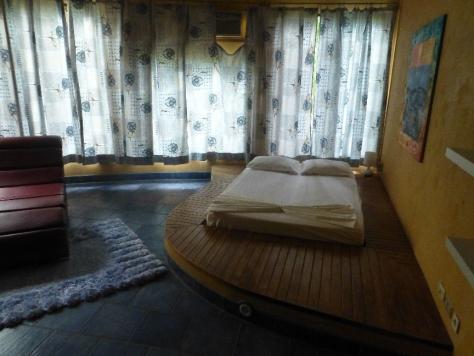 Tag 9 - Fahrt Samara Schlafzimmer Podest